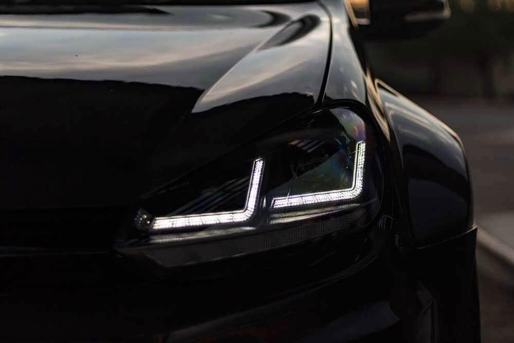 Osram Full LED Golf 7 koplamp Black