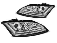 Audi TT 8J 06-10 Chrome Dynamic Edition LED koplamp units