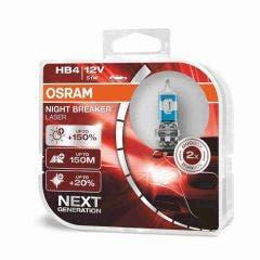 Osram Night Breaker Laser Gen2 HB4 9006NL-HCB