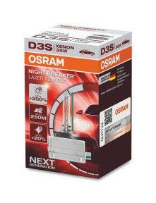 Osram Xenarc Night Breaker Laser 66340XNL D3S