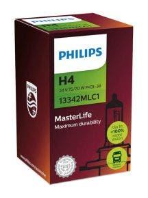 Philips MasterLife H4 24v Blister 13342MLC1