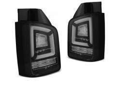 VW T5 LED 10-15 achterlicht units met dynamisch knipperlicht Black