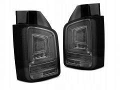 VW T5 LED achterlicht units met dynamisch knipperlicht Smoke