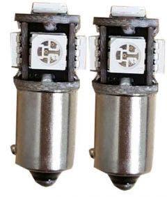 5-SMD-H6W-Blauw-LED-Binnenverlichting