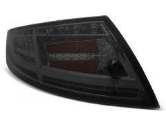 LED achterlicht units, geschikt voor Audi TT 06-14 Smoke LED Bar