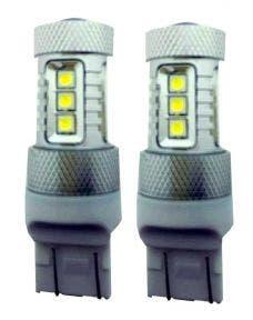 Canbus LED dagrijverlichting T20 - W21/5w geschikt voor Opel Corsa, Mokka, Vivaro en Renault Trafic