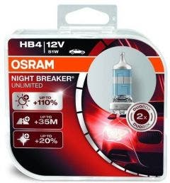 Osram Halogeen Night Breaker Unlimited - HB4