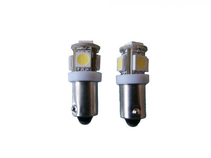Xenon Look 5 SMD LED BA9s - oranje