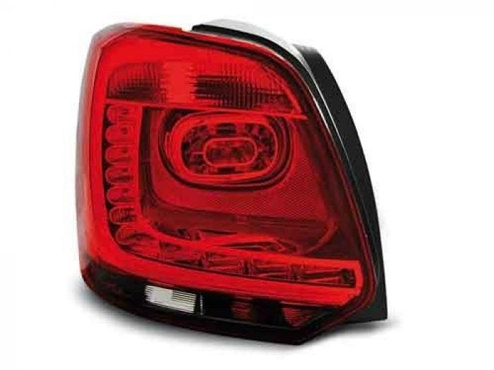 VW POLO 09-13 RED SMOKE LED Achterlicht Unit