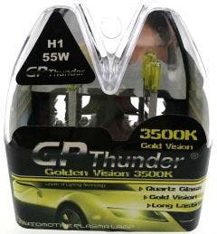 GP Thunder 3500k H1 55w Xenon Look - gold retro look