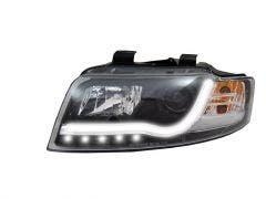 LED koplamp unit geschikt voor Audi A4 (B6) Black