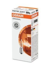 Osram Original Line H21W / BAY9s 24v 64138 10 lampen