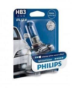 Philips WhiteVision 4300k blister 1 lamp - HB3