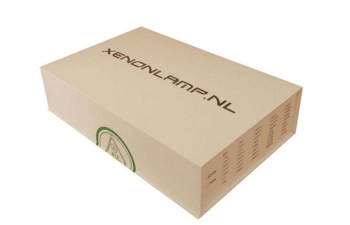 Xenonlamp.nl H4 Bi-Xenon ombouwset met R-lamp-5000k